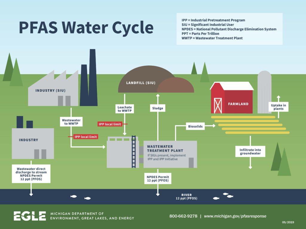 PFAS Water Cycle